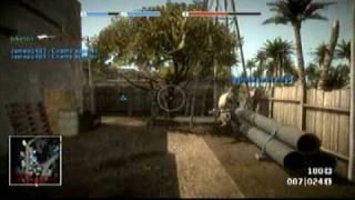 Battlefield BAD COMPANY Online Gameplay PS3 Demo