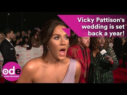 Vicky Pattison's wedding is being postponed by a year!
