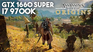 Assassin's Creed: Origins / GTX 1660 SUPER, i7 9700k / Maxed Out