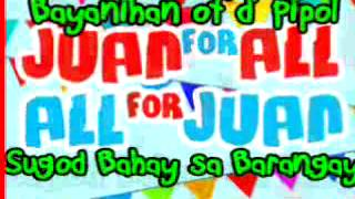 eb eat bulaga: all for juan juan for all, new theme song xD