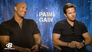 Mark Wahlberg & Dwayne 'The Rock' Johnson Interview | Pain & Gain