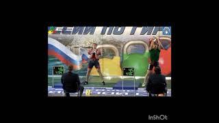 длинный цикл 32+32, гиревой спорт/Балабанов 103 раза, Кулаков 101 раз/Кубок России 2021г.
