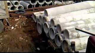 Отгрузка Трубы безнапорной азбестоцементной Т60-50-3(грузим с КЖБИ-8., 2011-04-21T07:25:06.000Z)