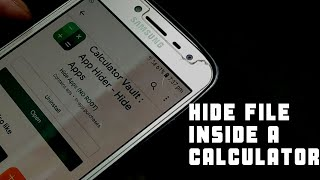 How to hide your secret files in calculator  Android tricks in 2019
