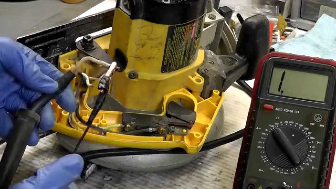 How To Diagnose Electrical Problems With Power Tool