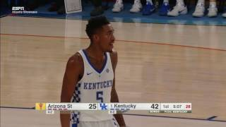 MBB: Kentucky 115, Arizona State  69