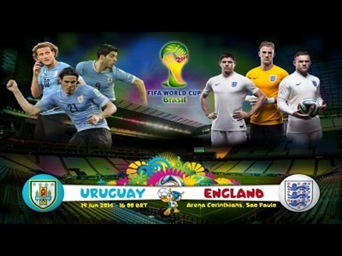 England vs Uruguay Live reaction! World Cup 2014 Brazil!