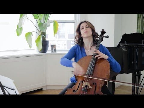 Bach Masterclass: Prelude from Suite No. 6 - Musings with Inbal Segev