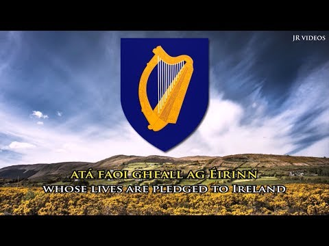 Irish national anthem (IE/EN lyrics) - Amhrán Náisiúnta na hÉireann