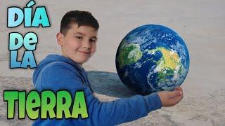 Dia de la Tierra. 🌍 Aprende como cuidar nuestro Planeta. 🌎 Manualidades para niños!! ♻