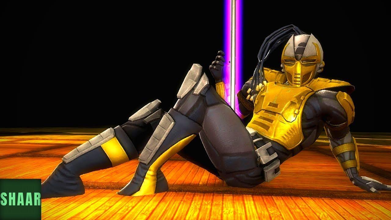 Mortal Kombat Komplete Edition FATALITY JADE vs MILEENA