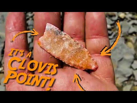 """""""Holy Snot! It's a Clovis Point!"""""""