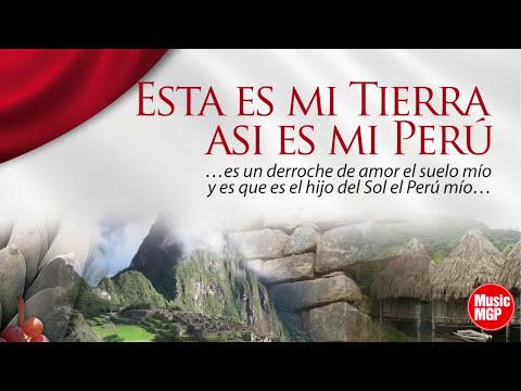 """4. Contigo Perú  O. Avilés y Arturo """"Zambo"""" Cavero  Esta Es Mi Tierra, Así Es Mi Perú, Vol. 1"""