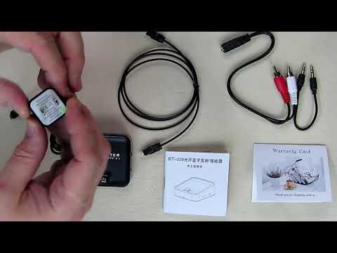 REVIEW Baile Bluetooth Transmitter/ Receiver, Digital Optical TOSLINK And 3.5mm Analog For TV/Home