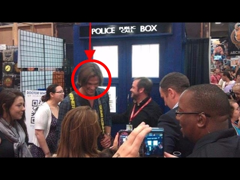 Jared Padalecki Is Too Big To Fit In The TARDIS
