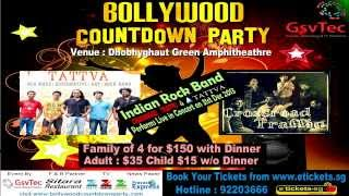 Bollywood Countdown Party 2014 in Singapore
