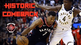 Franchise RECORD 12 Game WIN STREAK - Remarkable COMEBACK - Raptors vs Pacers Reaction