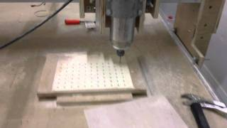 Cnc Making The Vacuum Table (2 Of 3)