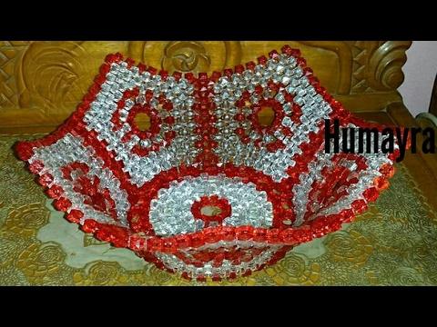 Beaded Flower Vase পুঁতির ফুল দানী Diy By Nilufar Azad