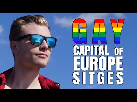 I LOVE The Gay Capital Of Europe - Sitges, Spain | Destination Jackson