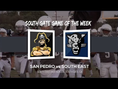 Football Game of the Week - San Pedro v South East 9-30-16