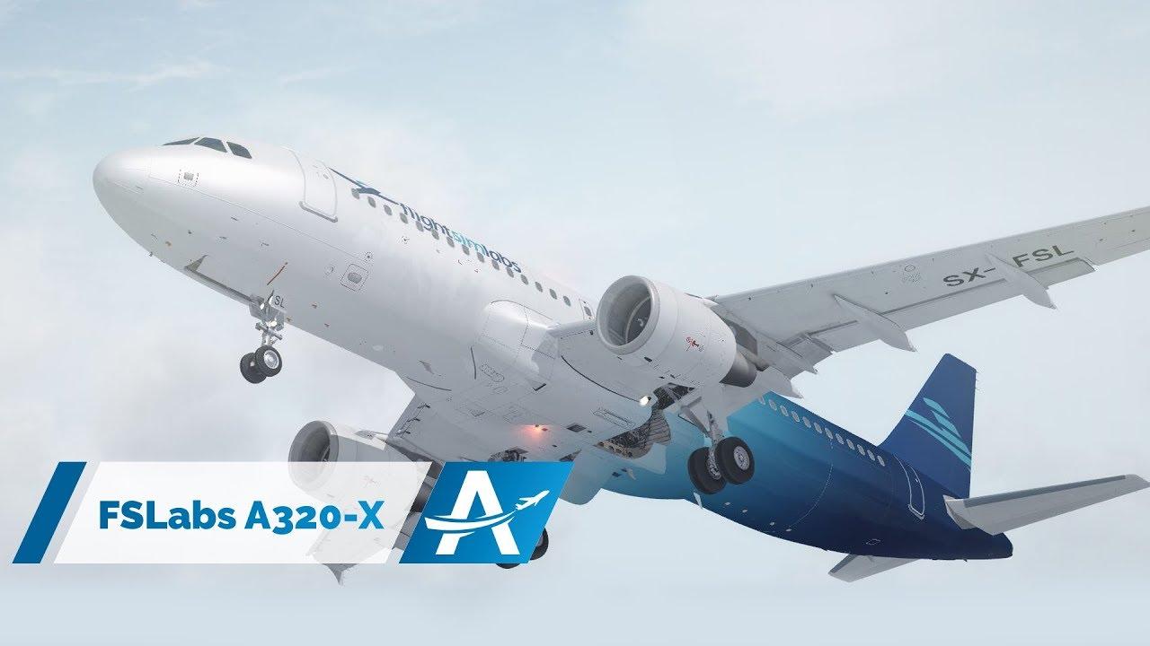 [P3D v4 1] FSLabs A320-X    AviationLads com