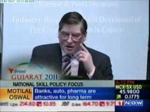 Industry Responsive Skill Development Emerging trends in Gujarat during Vibrant Gujarat Summit 2011