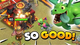 You Should Attack with Mass Baby Dragons - TH10 Attack Strategy (Clash of Clans)