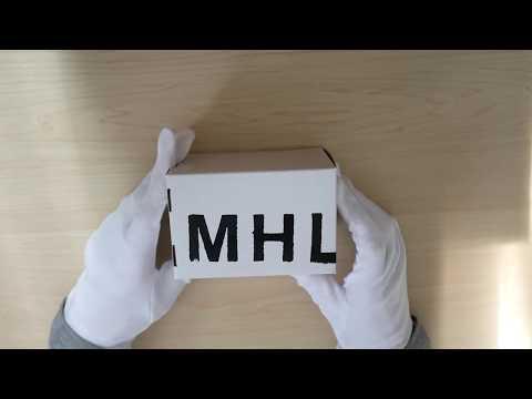 MHL × G-SHOCK オールブラックモデル