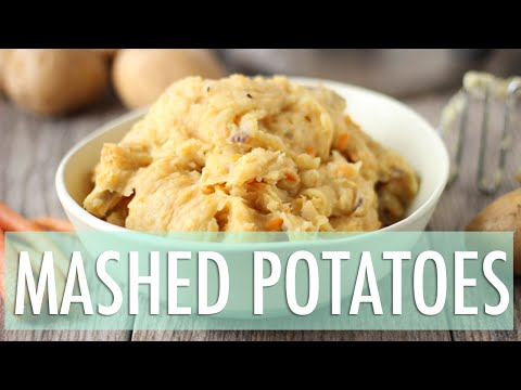 Best Vegan Mashed Potatoes | Healthy Vegan Recipes