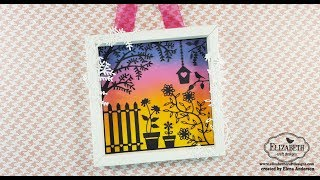 Becky Seddon New Release Wall Hanging for Elizabeth Craft Designs