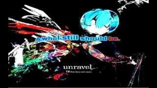 unravel karaoke english ingles off vocal