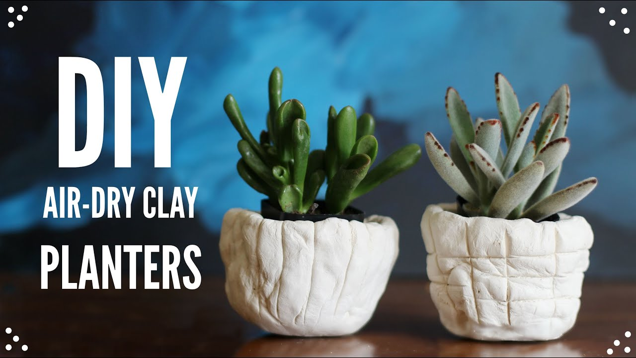 planters halloween steps to decorating clay diy topics decorations dry make for air how planter