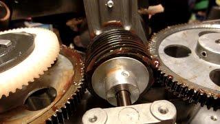 Teardown/Repair 1972 Bell&Howell 1535 16mm Film Projector: Worm Gear