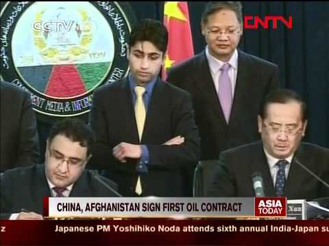 Afghanistan & China Sign First $7 B Oil Contract