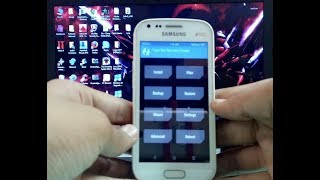 How to install TWRP recovery in Samsung galaxy s dous 2 by pc / computer in Hindi by tech to review