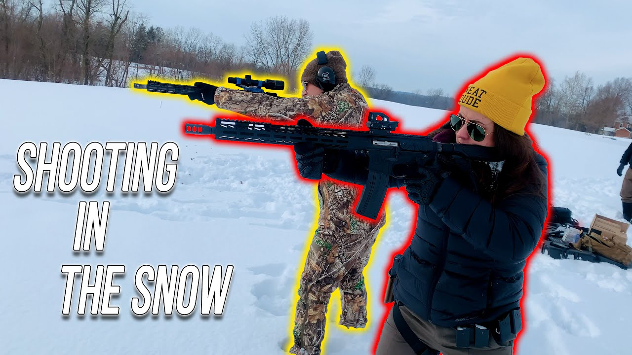 Admin Shelby Shooting In The Snow