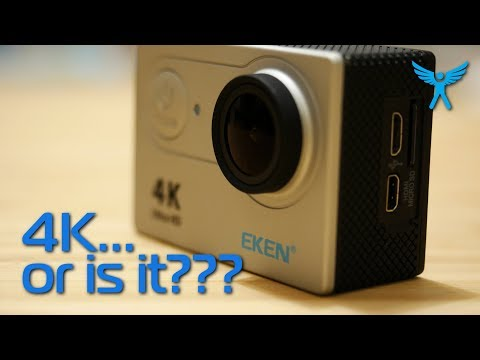EKEN H9R 4k action camera - not what you would expect