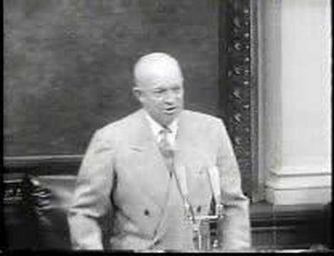 President Eisenhower discusses the Geneva Conference and Open Skies