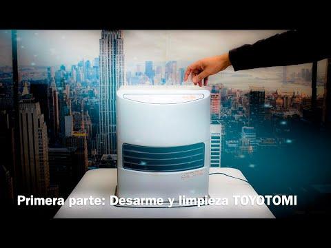 Mantención de estufa Toyotomi -Primera parte