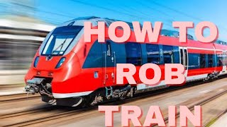 Roblox | Jailbreak | How to rob train step by step