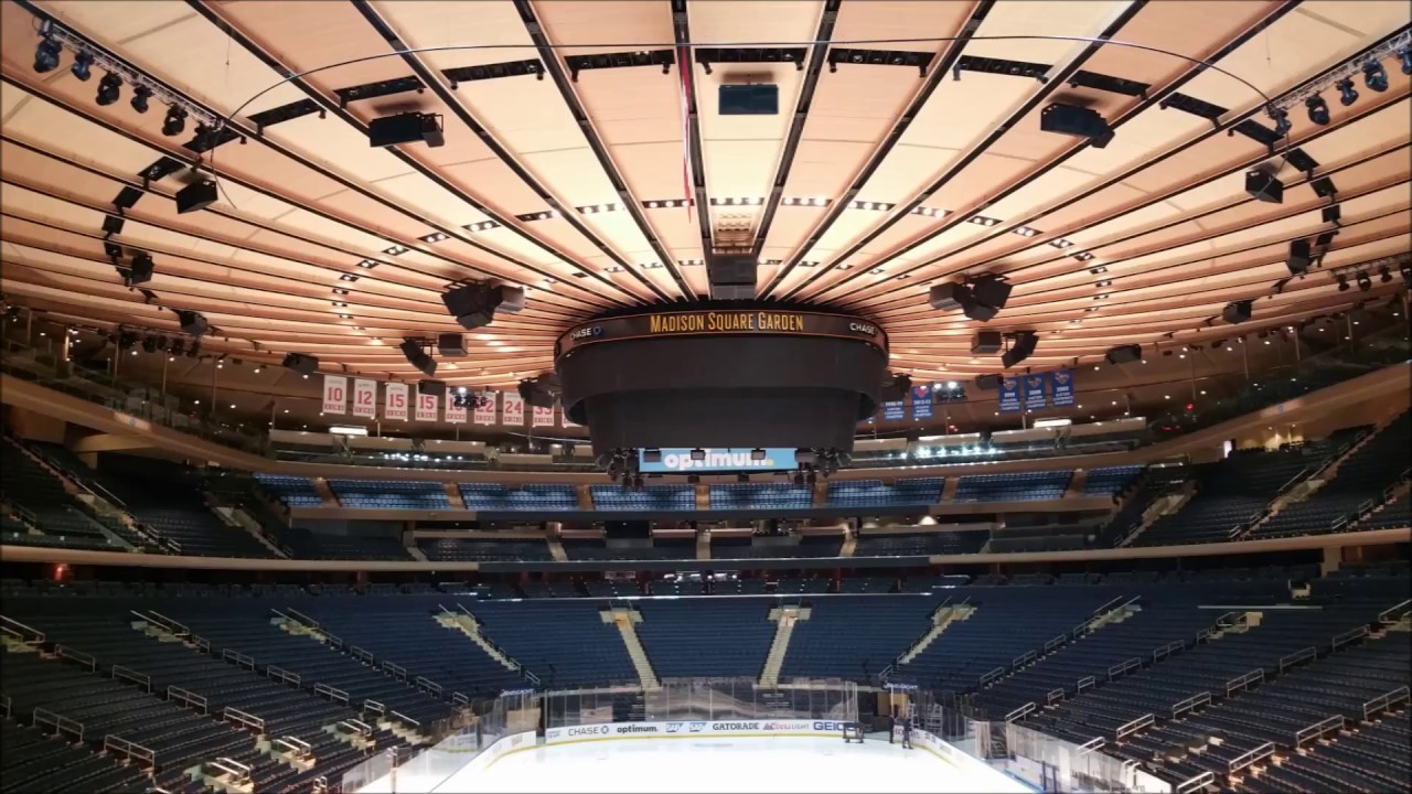 TOUR OF MADISON SQUARE GARDEN   MSG World Most Famous Arena   NYC 2015