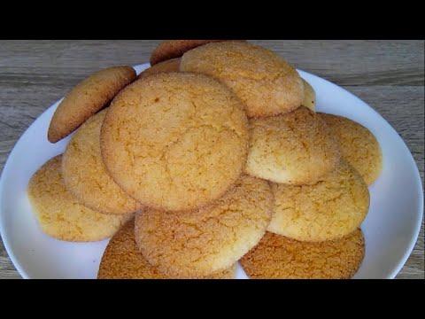 Печенье на манной крупе! Выпечка для вечернего чаепития! / Semolina Cookies