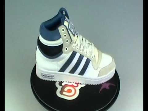 huge selection of 7751a 9909c Adidas Originals Top Ten Hi NBA Trainers Blue at Yukka