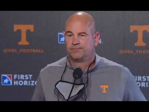 Jeremy Pruitt Press Conference before game with Alabama