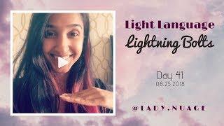 Light Language - Lady Nuage - Lightning Bolt #41