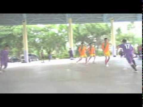 วันเปิดสโมสรพรตเอฟซี ผู้สื่อข่าวสยามกีฬาแข่งฟุตซอลกับผู้ปกครองนักฟุตบอลพรตปี2554