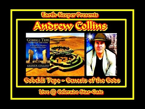 Andrew Collins @ Crystal Vortex: Genesis of the Gods - Brilliant !