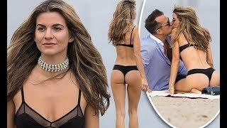 Rachel McCord sizzles in a black bikini celebrate New Year's Eve