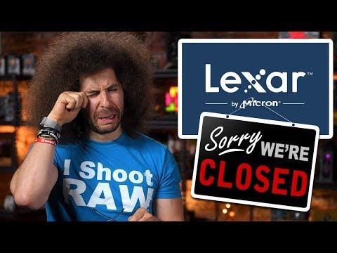 R.I.P LEXAR - Thanks for the Memory: Photo News Fix